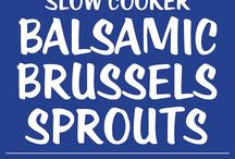 Sprouts balsamic