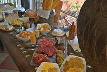 Tasty tables / For a unique touch add a candy buffet, french cheese table, pizza bar to your wedding reception, birthday party,  baby or bridal shower and be part of a rapidly increasing trend. Possibilities are endless with All That Glam!