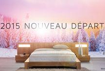 Renouveau / Thématique du mois de Janvier 2015. En ce début d'année l'équipe Bouvreuil célèbre le renouveau. Nouvelle couleurs, nouvelles tendances, nouveaux décors et plus
