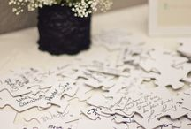 Wedding Guestbook Ideas / by Kristina Hammock