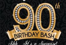 90th Birthday Bash