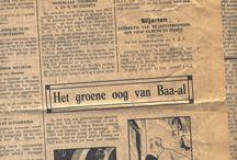 NL strips 1940 - 1950 / Comics/strips/cartoons uit Nederlandse kranten tussen 1940 en 1950