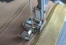 Cucire una zip