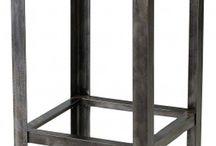 Table Industrielle Haute