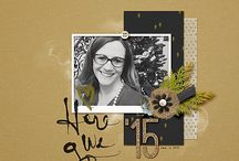 2015 Digi Layouts / by Monica Andrews