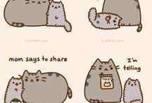 Pusheen And cute things / by Sadie Chapman