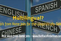 Bi-Lingual Work from Home Jobs