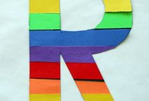 Rainbows / All things rainbows for kiddos and the classroom including rainbow crafts and rainbow class decor.