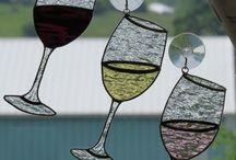Glas in lood Drinken