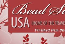"""BEAD SWAP USA Finished Item Swaps / **BEAD SWAP USA FEEL FREE TO ADD TO THIS BOARD :** An open group board for Bead Swap USA  featuring items  created and swapped by members.  Bead Swap USA is the """"home of the traveling bead box"""" -- an online group created by Nicole Weltch -- for jewelry designers and bead artists wishing to participate in bead trades, jewelry swaps & more. It's a lot of fun, with great members! To learn more or join in, go to http://beadswap-usa.com/"""