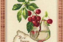 Haft Krzyżykowy - Owoce i Warzywa