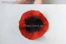 FELTING BROOCH