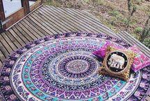 boho carpets