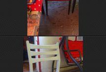 Plumeria / Mini atelier croitorie, pictura, reconditionat mobila