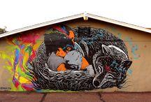 World of Urban Art : STINKFISH - ARK - SKORE - RODEZ - JAIR - KESHAVA  ..  [Colombia]