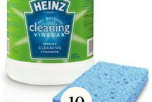 Natural Cleaning Recipes / Tips to keep your household clean including schedules, motivation, checklists, deep cleaning, spring cleaning, and more!