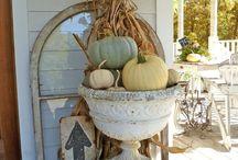 Fall~ Harvest Decor / by Jules Aviles