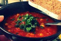 marokańska zupa z ciecierzyca