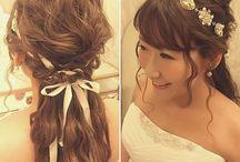 花嫁hair
