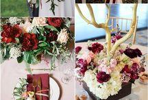 Fall & Winter wedding ideas / Idei pentru nunta de toamna si iarna
