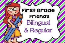 * First Grade Friends Bilingual and Regular Education / This board is for pinning fun lessons and ideas that are great for bilingual and regular education students.  Not too many rules to follow... but please be mindful....I'm thinking maybe pin 1 paid product for every 3 non-paid ideas....(5 paid pins/day) (or UNLIMITED free pins or ideas) just a thought. Happy pinning!!! Leave me a comment on my latest pin if you would like to be added....or ask any pinner to add you.