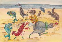 Alice in W:Art/Emily Carew Woodard / Alice in wonderland, (illustrator)