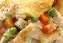 Casseroles / White mom supper delights