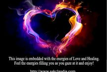 Energy/Emotional Healing / All dis-ease has an emotional beginning. Energy is very healing, especially the energy of Love.