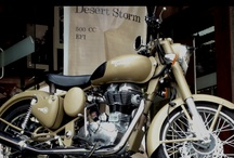 Royal Enfield / The world's oldest motor cycle brand in continuous production. And proudly Indian!