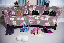 Cleo's Closet / Inside Cleo's colourful wardrobe.