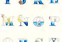 Alfabet tekenen