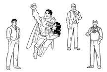 superman coloring