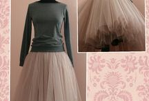 фатин юбка