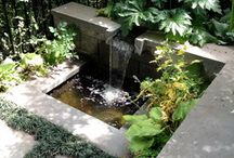 Water Wonders / Water features for a garden