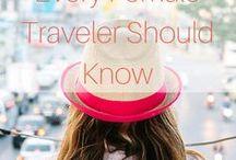 99Things of Female Traveller