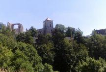 Ruiny zamku w Rudnie- czerwiec 2016.