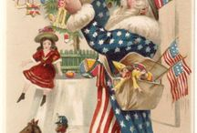 American Christmas Spirit / December 25th is a National flag flying holiday! Show your American Pride on Christmas! Santa's watching!