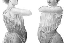 Maternity corsets / Ancient and modern ways to support a growing belly...