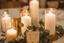 Centerpieces and Table settings / Paula Jean