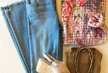 Summer Outfit Flatlays
