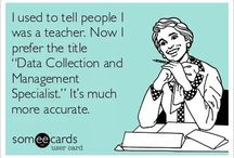 Teacher said WHAT??? / Quotes about education.