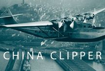 """China Clipper / """"China Clipper"""" is on display in the Aviation Museum and Library  in the International Terminal at SFO. The Aviation Museum and Library is open from 10am - 4:30pm Sunday through Friday."""
