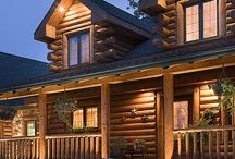 Log Homes and Cabins / by Sharon Apel