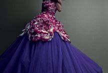 Fashion Couture Gowns / زي