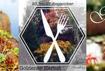 Goldener Herbst auf Mimis Foodblog / Dies ist die Pinnwand zum Bolg-Event bei Mimis Foodblog. Hier dreht sich alles um regionale und saisonale Herbstspezialitäten.