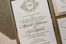 Esküvői meghívók - elegáns