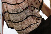 blusa croche de grampo