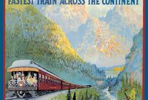 Trains... / Love  trains..and my dream of taking a train trip across Canada with a dear friend of mine….