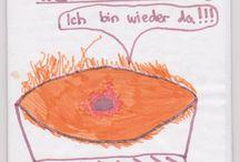 Hobbit / Es geht um eine Comicversion (Satire) von meinem Sohn Maximilian zu den Geschichten vom Hobbit und dem Herrn der Ringe und deren Fortsetzung.