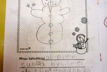 Lumiukko -teema